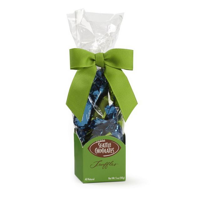 Seattle Chocolates - Blue & Green Truffle Bag - 5oz