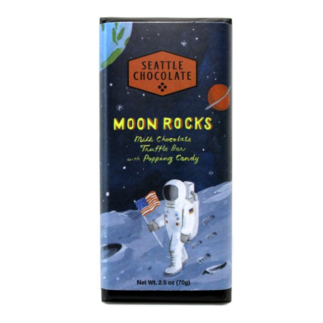 Seattle Chocolates - Moon Rocks Truffle Bar - 2.5 oz