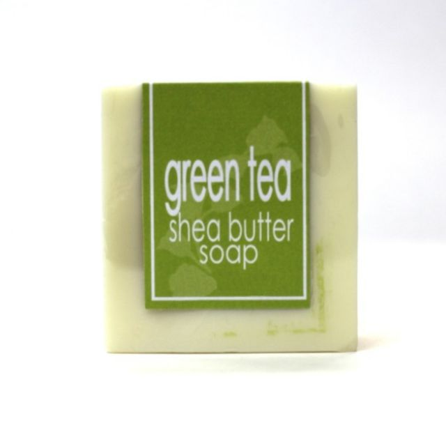 Shea Butter Soap - Green Tea - 5oz