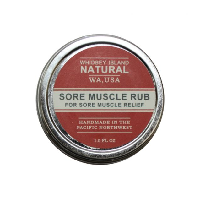 Sore Muscle Rub - Whidbey Island Natural - 1oz
