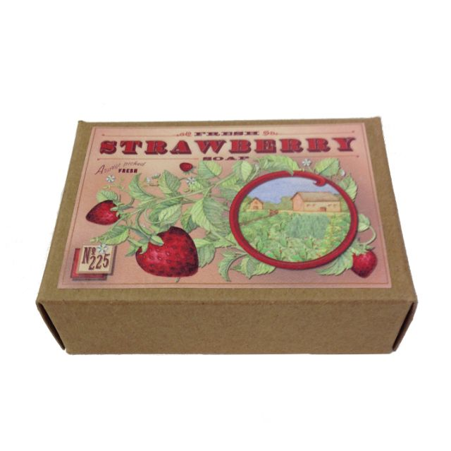 Strawberry Soap - Smellwell's - 4.5oz