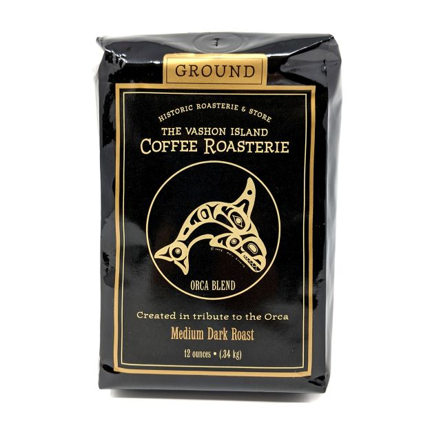 Vashon Island Coffee Roasterie - Orca Blend - 12oz Ground