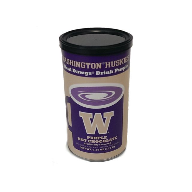 Washington Huskies Purple Hot Chocolate - 7 oz.