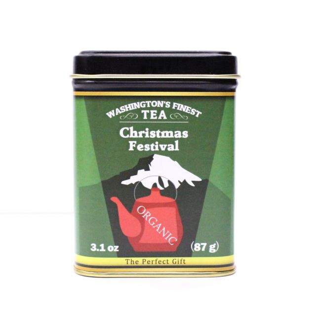 Washington's Finest Tea - Christmas Festival (Loose Leaf) - 3.1 oz.