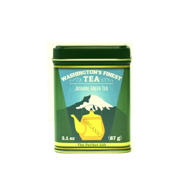 Washington's Finest Tea - Jasmine Green Tea (Loose Leaf) - 3.1 oz