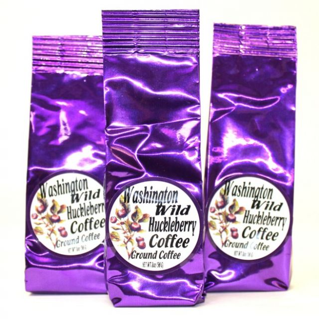 Wild Huckleberry Coffee - Best Price: 3 bags (6 oz)