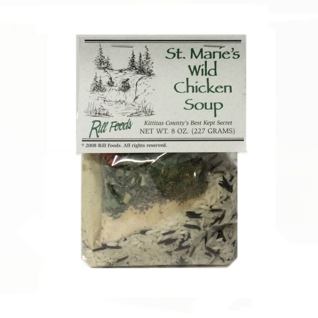 Wild Rice and Chicken Soup - Rill Foods - 8 oz