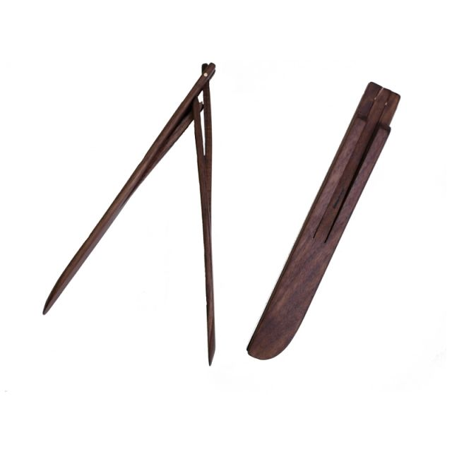 Wooden Salad Tongs - Walnut