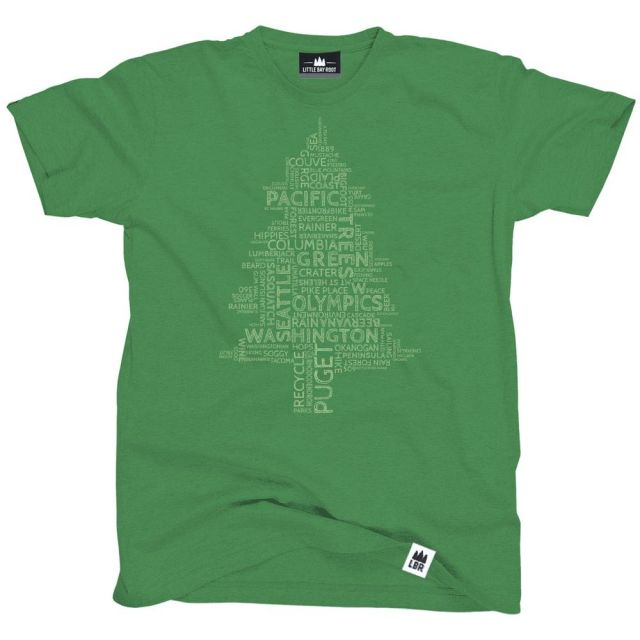 Word Tree T-Shirt - Little Bay Root